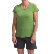 Club Ride Delice Cycling Jersey - UPF 20, Short Sleeve (For Women) in Mantis - Closeouts