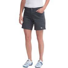 Club Ride Eden Bike Shorts - Removable Padded Liner (For Women) in Raven - Closeouts