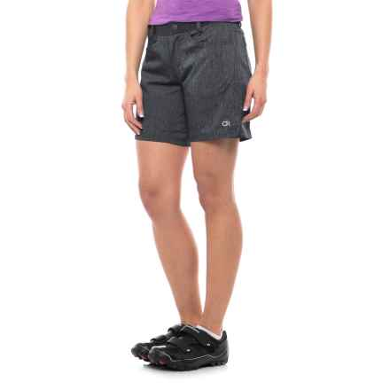 Club Ride Eden Cycling Shorts - CoolMax® Liner Shorts (For Women) in Midnight - Closeouts