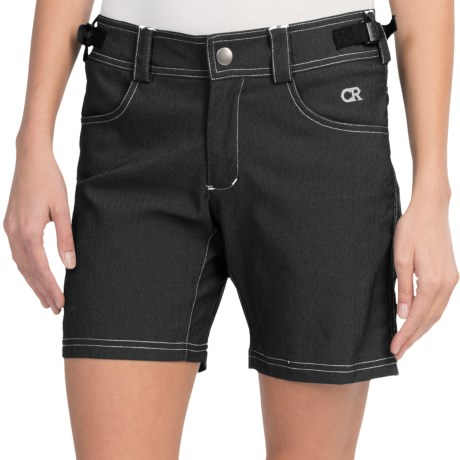 Club Ride Eden Cycling Shorts - CoolMax® Liner Shorts (For Women) in Raven