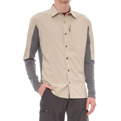 Club Ride Go Long Cycling Shirt - UPF 30+, Snap Front, Long Sleeve (For Men)