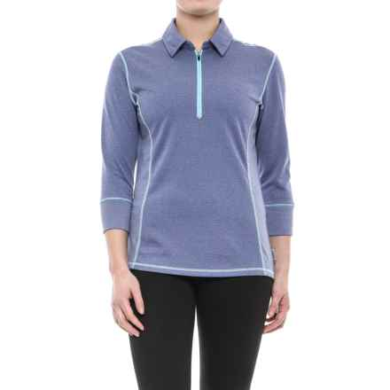 Club Ride Hermosa Cycling Jersey - UPF 30+, 3/4 Sleeve (For Women) in Cobalt - Closeouts
