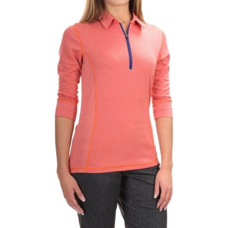 Club Ride Hermosa Cycling Jersey - UPF 30+, 3/4 Sleeve (For Women) in Molten