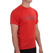 Club Ride H.U.G. T-Shirt - UPF 20+, Short Sleeve (For Men) in Molten - Closeouts