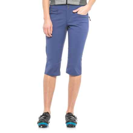 Club Ride Joy Ride Capris (For Women) in Cobalt - Closeouts