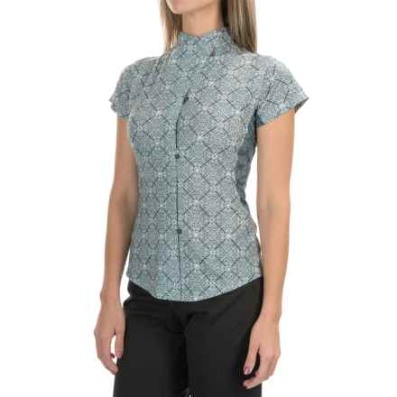 Club Ride Laurel Cycling Jersey - UPF 20+, Short Sleeve (For Women) in Baracco - Closeouts