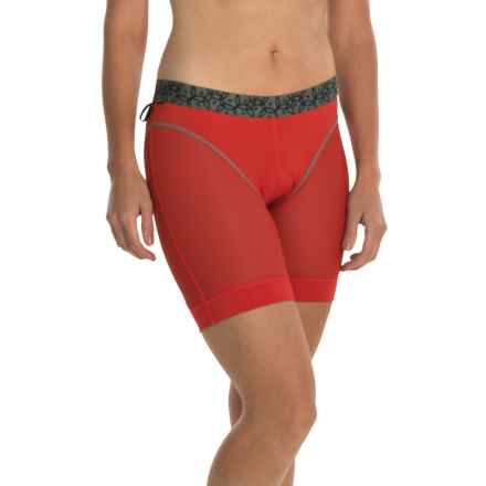 Club Ride Montcham Cycling Liner - Shorts (For Women) in Molten - Closeouts