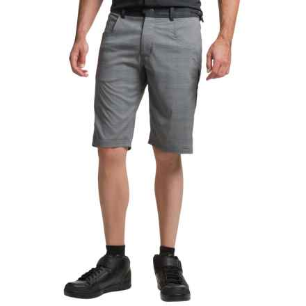 Club Ride Mountain Surf Bike Shorts - UPF 30+ (For Men) in Charcoal Plaid - Closeouts