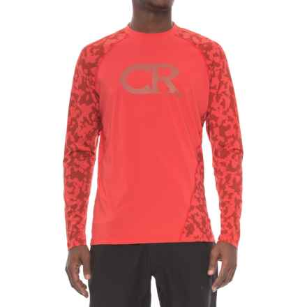 Club Ride Phantasm Cycling Jersey - UPF 20+, Long Sleeve (For Men) in Molten - Closeouts