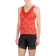 Club Ride Phoenix Cycling Jersey - UPF 20+, Sleeveless (For Women) in Molten Butter - Closeouts