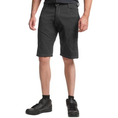 Club Ride Pipeline Bike Shorts - UPF 30+ (For Men) in Raven