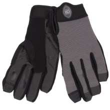 Club Ride Recon Bike Gloves - Full Finger (For Men) in Dark Shadow - Closeouts