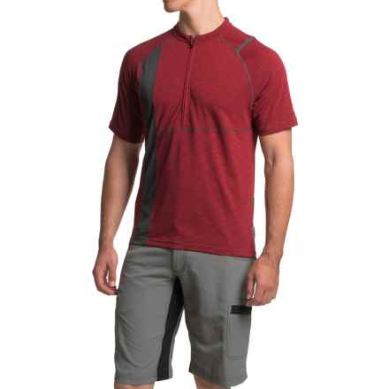 Club Ride Rialto Cycling Jersey - UPF 20+, Zip Neck, Short Sleeve (For Men) in Biking Red - Closeouts