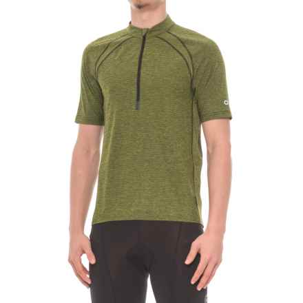 Club Ride Roadeo Cycling Jersey - UPF 20+, Zip Neck, Short Sleeve (For Men) in Sulphur - Closeouts