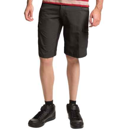 Club Ride Rumble Cycling Shorts - UPF 30 (For Men) in Raven - Closeouts