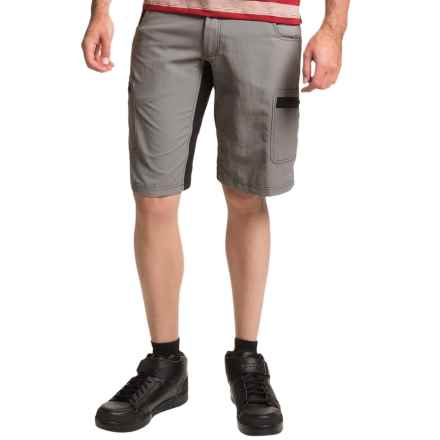 Club Ride Rumble Cycling Shorts - UPF 30 (For Men) in Shadow - Closeouts
