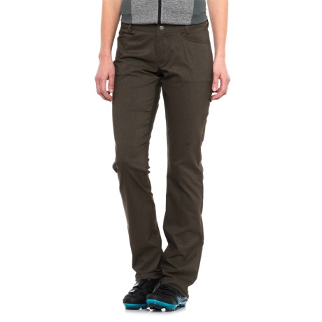 Club Ride Transit Pants (For Women) in Dark Olive