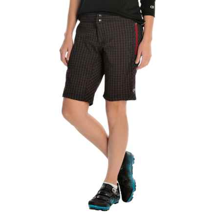 Club Ride Ventura Cycling Shorts (For Women) in Cosmic Raven - Closeouts