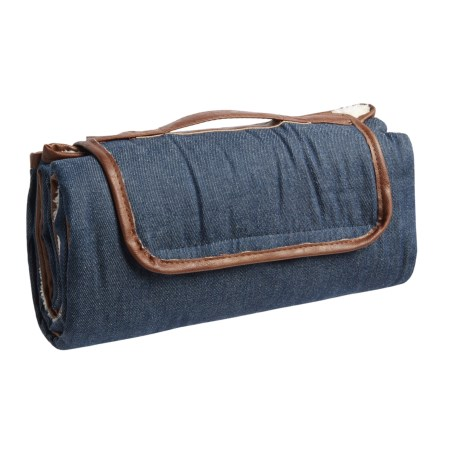 "Co-Pilot Denim Travel Pet Blanket - 59x39"" in Blue"