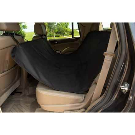 Co-Pilot Waterproof Pet Car Seat Hammock in Black - Closeouts