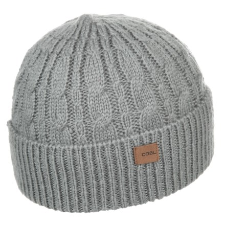 03ecaf8ee37a0 Coal The Longview Beanie (For Men) in Grey - Closeouts