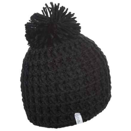 Coal The Waffle Beanie (For Men) in Black - Closeouts