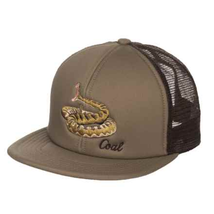 Coal The Wilds Baseball Cap (For Men) in Khaki W/Snake - Closeouts
