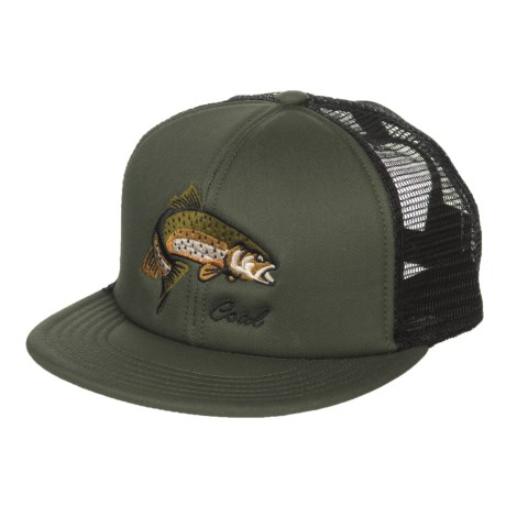 Coal The Wilds Baseball Cap (For Men) in Olive W/Fish