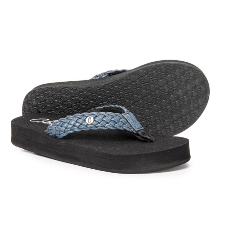 372301c13 Cobian Braided Bounce Flip-Flops (For Women) - Save 46%