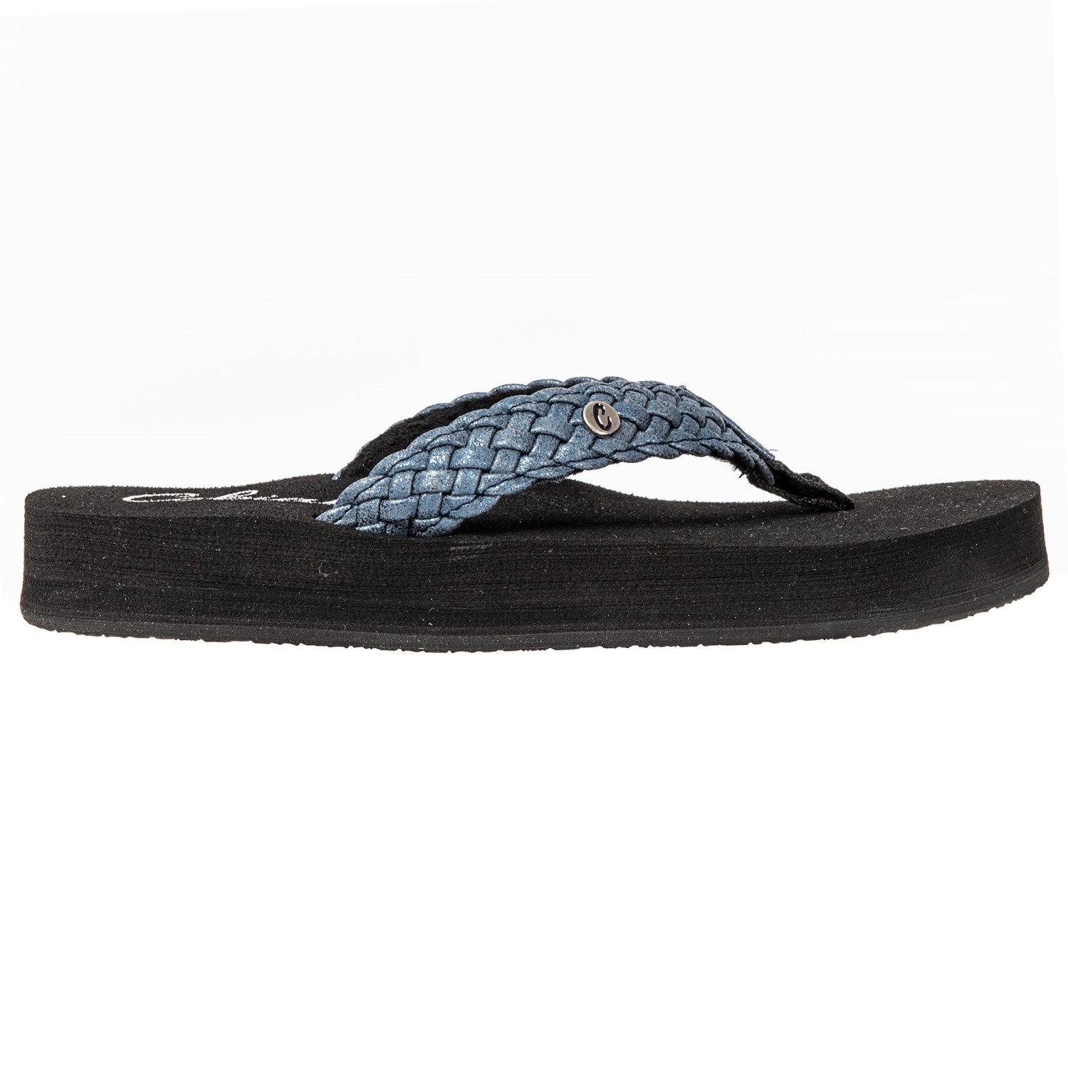 661d4541c Cobian Braided Bounce Flip-Flops (For Women) - Save 46%
