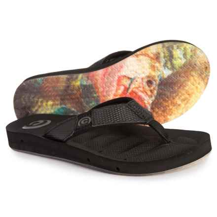 ea846dbab428c0 Cobian Draino Flip-Flops (For Men) in Black Grey - Closeouts