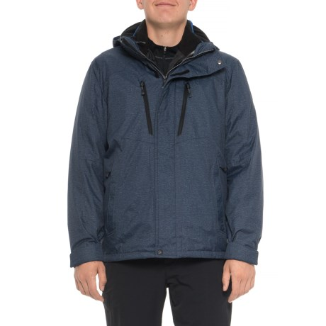 Image of Cobra Navy Static System Jacket - Insulated, 3-in-1 (For Men)