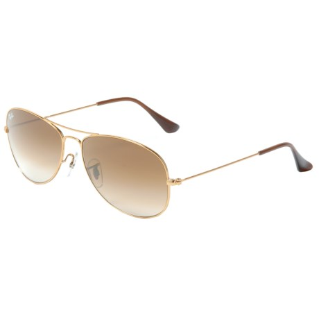 Image of Cockpit Aviator Gradient Sunglasses