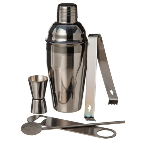 Image of Cocktail Set - 5-Piece, Stainless Steel