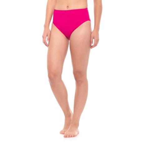 b7fb0db5ca11c Coco Reef Contours Onyx High-Waist Bikini Bottoms (For Women) in Rosewood