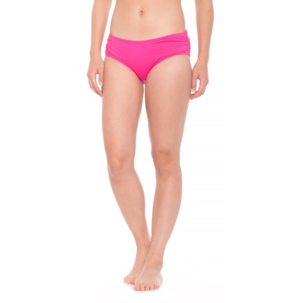 b3bac7d2161 Coco Reef Side Shirred Bikini Bottoms (For Women) in Summer Pink - Closeouts