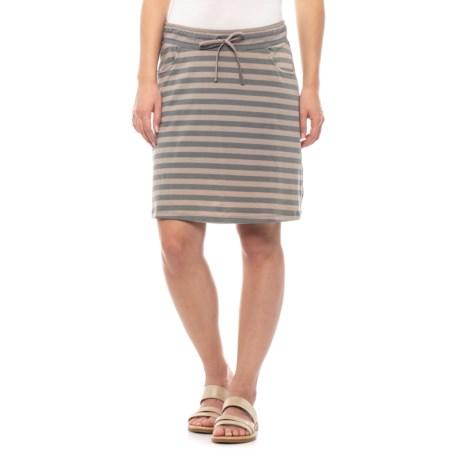 Image of Cocoa Stripe Tica Skirt (For Women)