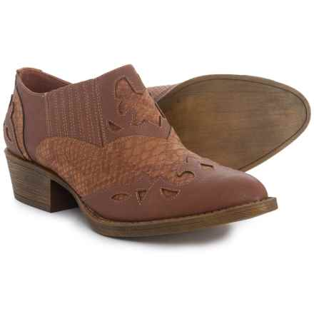 Coconuts by Matisse Giddy Up Western Shoes (For Women) in Tan - Closeouts