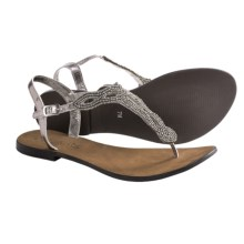 Coconuts by Matisse Pino Ankle Strap Sandals (For Women) in Pewter - Closeouts