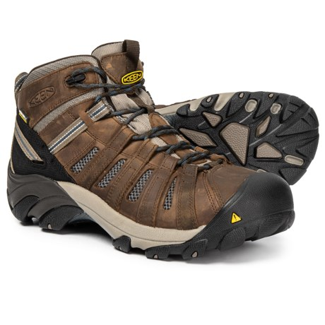 Image of Cody Steel-Toed Work Boots - Waterproof (For Men)