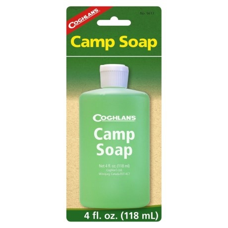 Coghlan's Biodegradable Camp Soap - 4 fl.oz. in See Photo