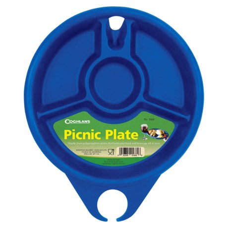 """Coghlan's Picnic and Camping Plate - 10.25"""" in See Photo"""