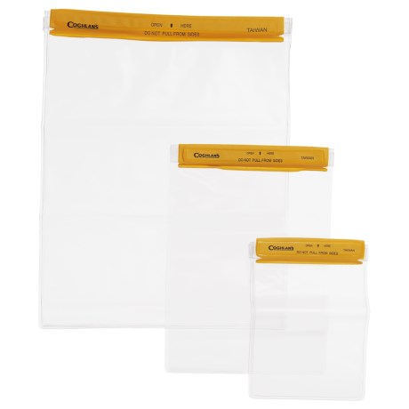 Coghlan's Water-Resistant Travel Pouches - 3-Pack Set in See Photo