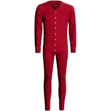 Cold Storage Union Suit (For Men) in Red - Closeouts