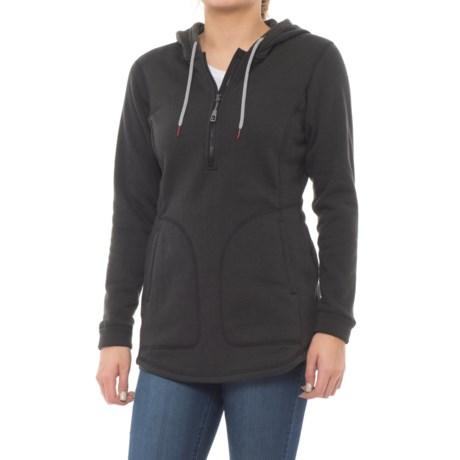 Image of Coldspring Hooded Fleece Tunic Shirt - Long Sleeve (For Women)