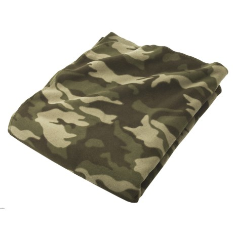 "Cole Daniel Oversized Fleece Throw Blanket - 54x64"" in Camo"