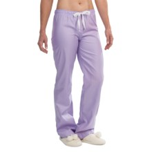 Cole Daniel Pajama Pants (For Women) in Light Purple Stripe - Closeouts