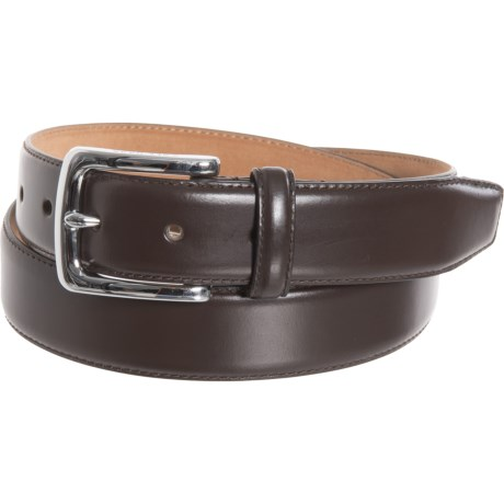 48a6e04e14e Cole Haan 30mm Dress Belt - Leather (For Men) in Chocolate