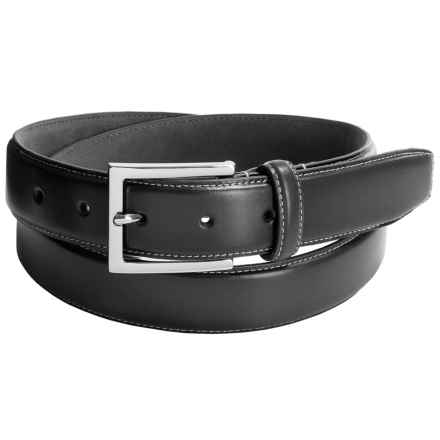 Cole Haan 32mm Leather Belt (For Men) in Black - Closeouts