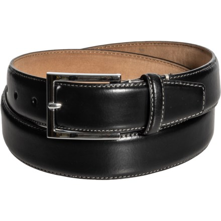 af1d6cac00 Cole Haan 35mm Belt with Contrast Stitching - Leather (For Men) in Black -